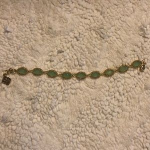 Gold and turquoise Kendra Scott bracelet
